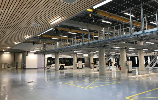 intérieur centre maintenance sytral