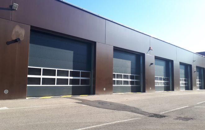 7eme RMAT portes sectionnelles coupe feu